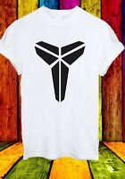 Kobe Bryant Black Mamba 24 LA Lakers Basketball NBA Men Women Unisex T-shirt 742
