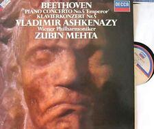 """Beethoven Piano Concerto No 5 """"Emperor"""" [Mehta] : Vladimir Ashkenazy"""
