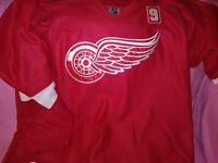 Tomas Tatar Slovak Detroit Red Wings Fight Strap Hockey Nhl Reebok Jersey Sz 54