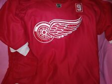 Tomas Tatar Slovak Detroit Red Wings Fight Strap Hockey Nhl Reebok Jersey Sz 54