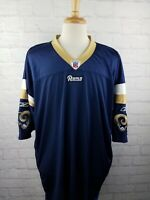 RARE Reebok Authentic ON-FIELD St Louis Rams NFL Blank Jersey - Size 58 - MINT!