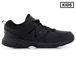 New Balance Boys' 625 Wide Fit Sports Shoes - Black - PL243