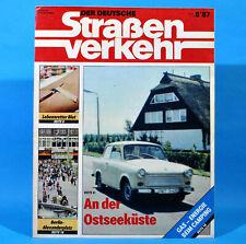 Der Deutsche Straßenverkehr 8/1987 Ribnitz-Damgarten Velorex 700 Bautzen M17