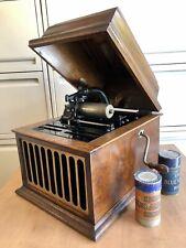 Edison Amberola 30 Cylinder Phonograph. Original. Complete. In Working Order!