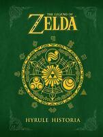 THE LEGEND OF ZELDA: Hyrule Historia by Eiji Aonuma (1616550414) Hardcover Book