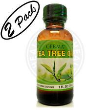 TEA TREE Oil Massage Bath Aromatherapy 100% Pure Aceite Arbol de Te Puro 2 PACK