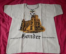 """T-shirt Ethiopie """"Gonder"""" made in Ethiopia"""