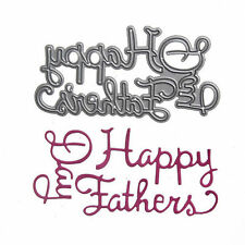 Craft-House 'Happy Fathers Day Script' Cutting Die. CHD22