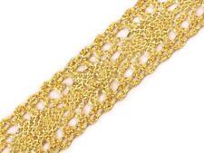 1m ejemplifican cenefa-joyas banda bricolaje decorar coser - 27 mm-Gold