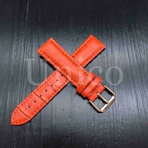 12 - 22 MM Watch Band Strap Genuine Leather Alligator Crocodile Fits For Fossil