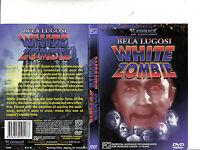 White Zombie DVD_1932 Bella Lugosi Movie_RARE PRINT COVER - ZOMBIES