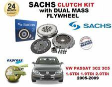 FOR VW PASSAT 3C2 3C5 1.6 1.9 2.0 TDi 2005-2009 SACHS CLUTCH KIT with FLYWHEEL