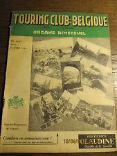 Touring Club de Belgique 15 Avril 1948 Neufchateau en Ardennes et son histoire
