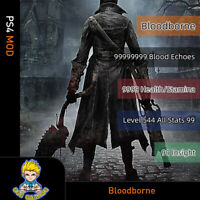 Bloodborne(PS4 Mod)- Max Blood Echoes/Insight/Health/Stamina/Level/Stamina