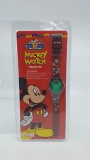 Vintage Mickey Mouse Logo Sport Watch For Kids Innovative Time Disney Lenticular
