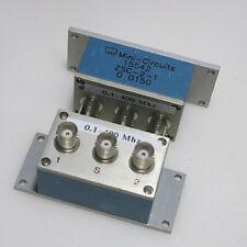 1PC Mini-Circuits ZSC-2-1-75 0.1-400MHz BNC RF Splitter