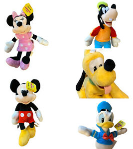 Mickey Mouse Disney Junior Beanbag Plush 5 Pack Minnie Mickey Mouse Goofy Donald