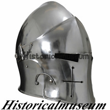 Corinthian Barbute Helmet, Medieval Bascinet Helmet, Role-play, Fancy Dress,ALS5