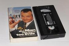 VHS Video ~ The Man Who Knew Too Little ~ USA Ex-Rental ~ Card Packaging