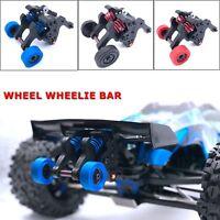 Assembled Double Wheel Wheelie Bar Car Parts for 1:10 RC Traxxas EREVO E-REVO
