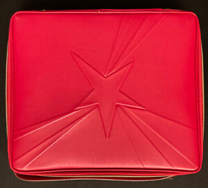 Lancome Makeup Cosmetic Train Case RED 2021's New