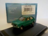Ford Fiesta Mk1 - Jade Green  Oxford Diecast 1/76 New Dublo, 76FF005
