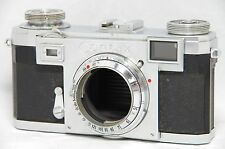 Zeiss Ikon Contax IIa 35mm Rangefinder Film Camera Body Only SN24831 Color Dial