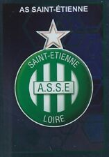 437 ECUSSON BADGE LOGO ASSE AS SAINT-ETIENNE  STICKER PANINI FOOT 2018