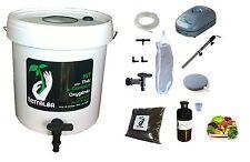 Kit complet 20L blanc pour thé compost aéré : pompe filtre... tea compost brewer