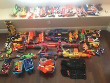 Nerf lot of 55 guns nerf vest  Titans stampede