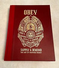 2006 Obey: Supply & Demand - The Art of Shepard Fairey Hardcover Book