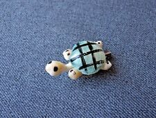 VINTAGE PAINTED REAL SHELLS TURTLE PIN