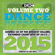 DMC DJ Only Dance Mixes 2015 Vol 2 Dance Music Double CD Set