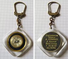 Porte clé Boussole Carrosserie Tôlerie Béziers Keychain Portachiavi Sleutelhange