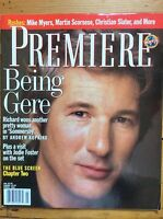 Premiere (US Edition) March 1993, Richard Gere cover, Joel Schumacher, Alive
