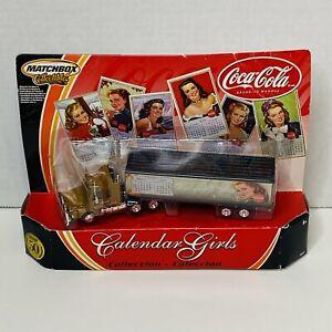 Coca-Cola 2001 Matchbox Collectables Calendar Girls series September/October #6