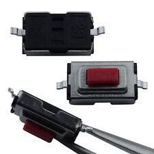 10 Stück SMD Taster 3x6x2.5 mm Rot Subminiatur Mikrotaster Drucktaster KFZ Key