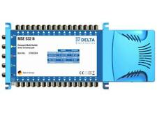 DELTA MSE-532N Multiswitch 5 in 32 Out For Use With Quad Or Quattro LNB