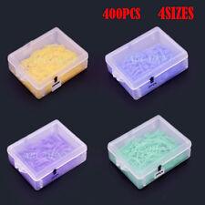 400pcs Round Dental Plastic Poly-Wedges with Holes 4 Colors 4 Sizes/Set FDA CE