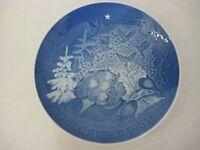 "1981 Bing & Grondahl Christmas Peace Porcelain Collectors Plate 7"""