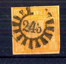 GERMAN STATES - BAYERN - 1850 - Grande cifra in cerchio. E5324