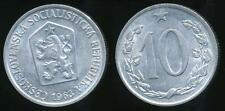 Czechoslovakia, Socialist Republic, 1963 10 Haleru - almost Uncirculated