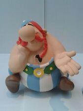 Obelix bonbonne assis Leblon Delienne Uderzo 1ere version