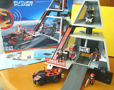 PLAYMOBIL FUTURE PLANET 5153 DARKSTERS TOWER STATION IR Fernsteuer. / wie NEU