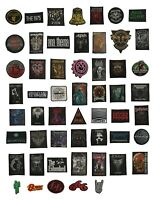 Metal Bands, Music, Rock Bands Patches
