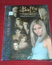 Buffy the Vampire Slayer: Core Rulebook by C.J. Carella 2002 Hardcover Sealed