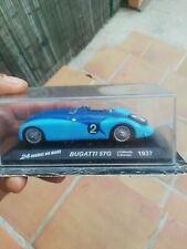 Bugatti 57G 1er 24H Mans 1937 1/43 Ixo Altaya Neuf Boite JP Wimille R Benoist