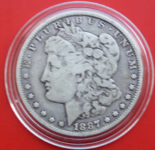 USA-Amerika: 1 Morgan Dollar 1887-O Silver, KM# 110, #F1821