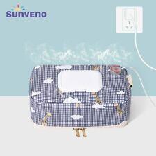 Sunveno Baby Wipe Warmer Wipes Dispenser Heater Wet Towel Dispenser Napkin