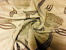 SUPER Lussuoso cotone damascato Tessuto firmato dall'alto 3.5 metri.